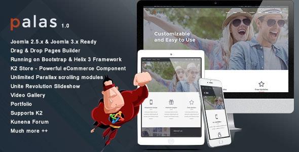 Palas - Multipurpose Business Joomla Template - Business Corporate