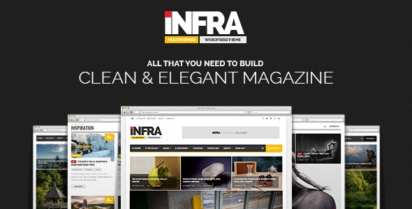 INFRA - Clean & Elegant Magazine Theme - Blog / Magazine WordPress