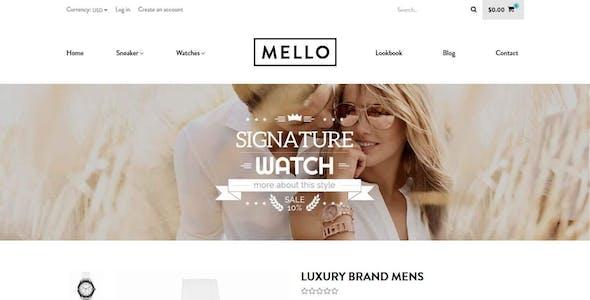 Melo | UK Fashion Store Minimalist Shopify Theme