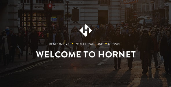 Hornet - An Urban Multi-Purpose Theme - Creative WordPress
