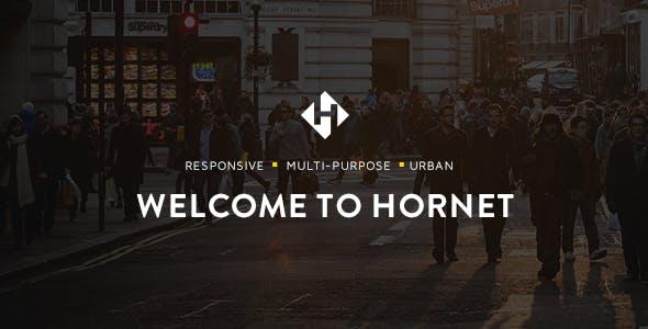 Hornet - Urban Multipurpose Theme
