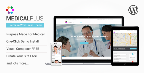 MedicalPlus - Health and Medical WordPress Theme - Health & Beauty Retail