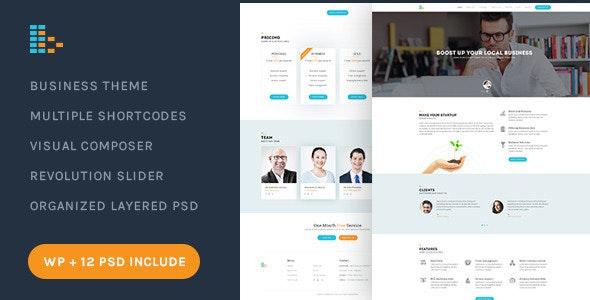 Bplus: Business & Consultancy WordPress Theme - Corporate WordPress