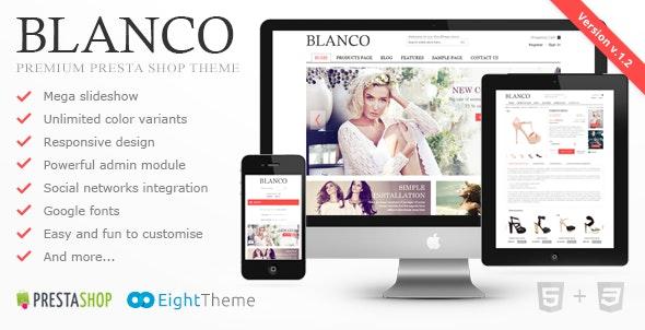 Blanco - Fluid Responsive PrestaShop Theme - PrestaShop eCommerce