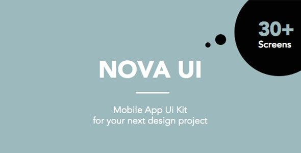 Nova UI Kit for Sketch - Sketch Templates