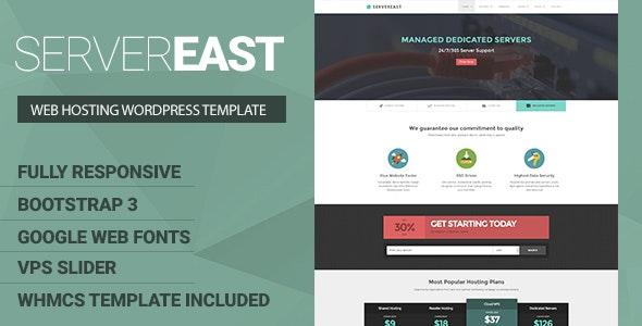 ServerEast - VPS Hosting Wordpress Theme - Hosting Technology