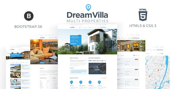 DreamVilla - Real Estate HTML Template - Business Corporate