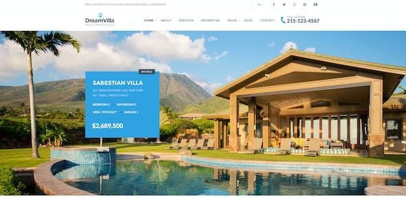 DreamVilla - Real Estate HTML Template