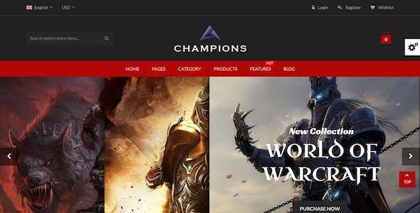 Champions - Creative Multi-Purpose Magento Themes