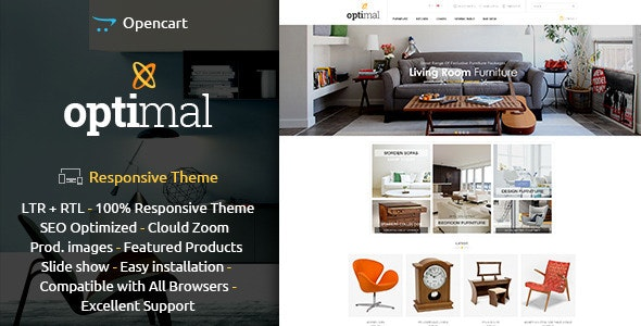 Optimal - Opencart Responsive Theme - Shopping OpenCart