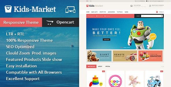 Kids Market - Opencart Responsive Theme - Miscellaneous OpenCart