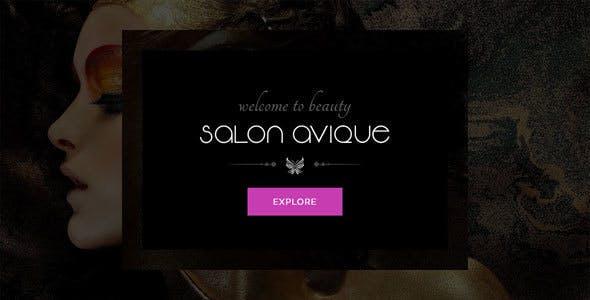 Avique | Tiệm hớt tóc, Spa, Thẩm mỹ, làm móng tay WP