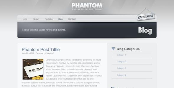 PHANTOM - Climatic & Functional PSD Template