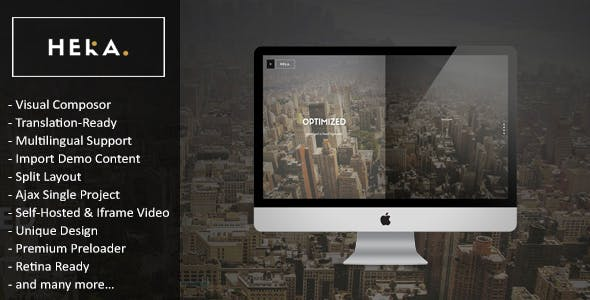 Hera - Creative Multipurpose WordPress Theme