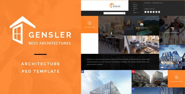Gensler : Architecture PSD Template - Business Corporate