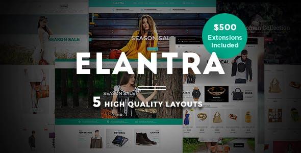 Elantra - Kitchen Store Responsive Magento Theme