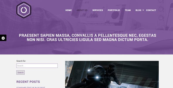 Lecorpo    Business WordPress Theme