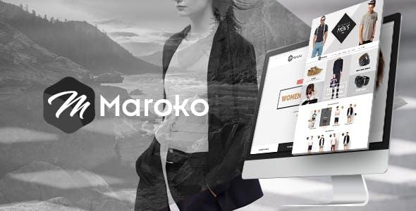 Maroko - Fashion Store HTML Template