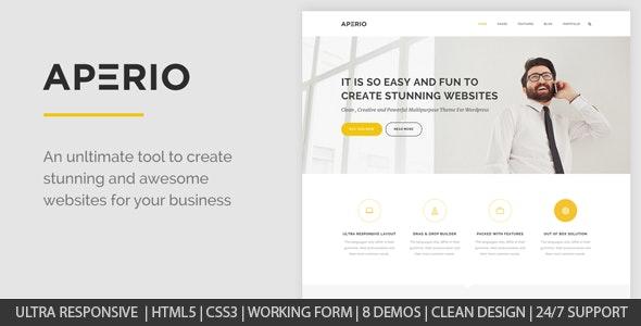 Aperio - Multipurpose HTML Template - Creative Site Templates