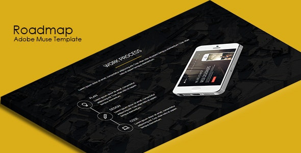 Roadmap - Multipurpose Muse Template - Corporate Muse Templates