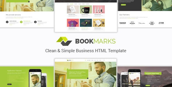 BookMarks - Clean & Simple Business HTML Template - Business Corporate