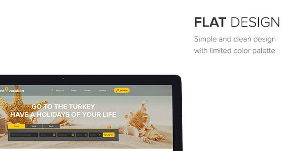 Best Vacation - Holiday Web Sketch Template