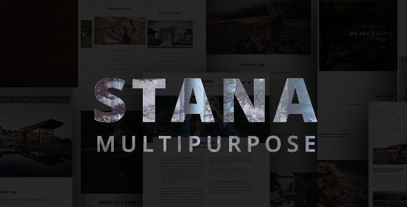 STANA - Multipurpose Template - Creative Muse Templates