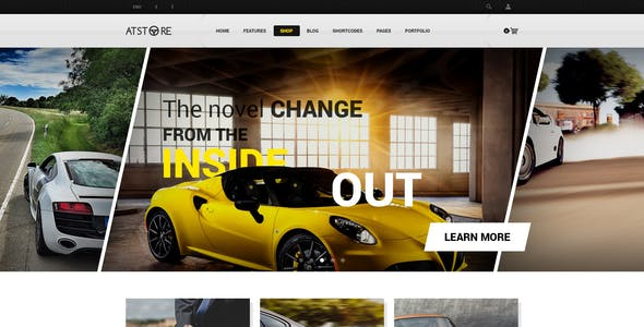ATStore - Multipurpose eCommerce PSD Template