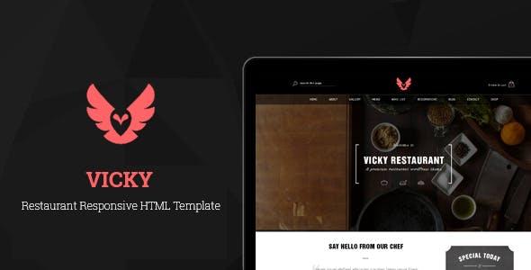 Vicky - Responsive HTML Template