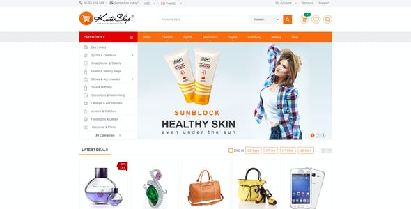 KuteShop - Multi-Purpose Ecommerce HTML Template