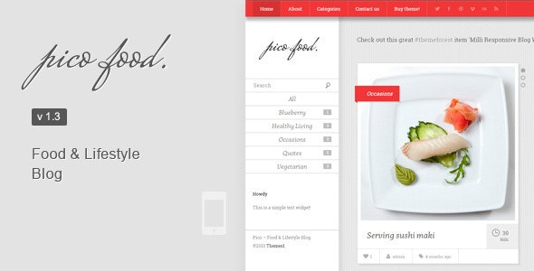 Pico - Food & Lifestyle Blog - Food Retail