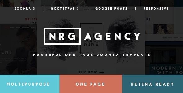 NRGagency - Creative Multipurpose Agency Template - Portfolio Creative