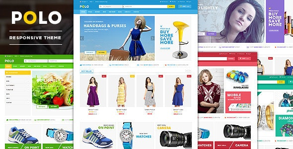 POLO - Responsive Multipurpose HTML5 Template - Retail Site Templates