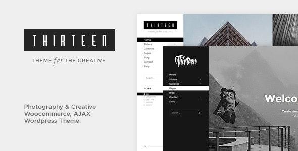 Thirteen   Photography & Creative WordPress Theme - Creative WordPress