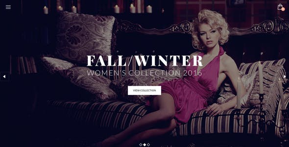 LUXURY - E-Commerce and Blog PSD Theme