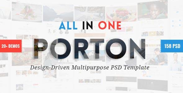Porton | Design-Driven Multipurpose PSD