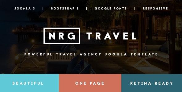 NRGtravel - Modern Travel Agency Joomla Template - Travel Retail