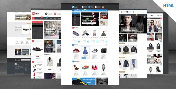 Matalo - Fashion Store HTML Template - Shopping Retail