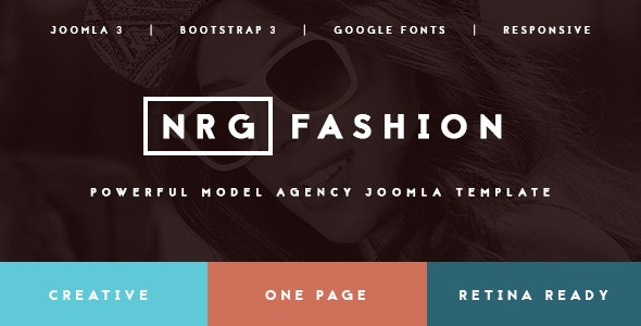 NRGfashion - Model Agency/Fashion Template - Fashion Retail