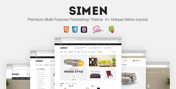 SNS Simen - Responsive Prestashop Theme - PrestaShop eCommerce