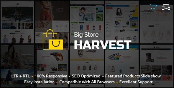 Harvest - Responsive Multipurpose OpenCart Theme