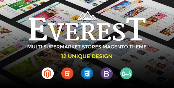 Ultimate Grocery Outlet Store Premium Responsive Magento Theme | Everest - Shopping Magento
