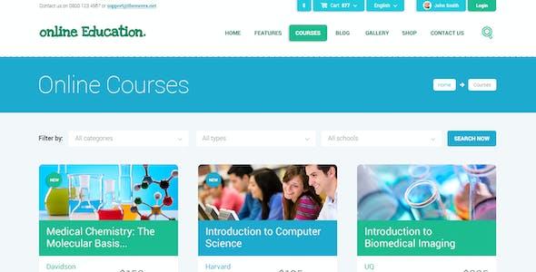 Education Center & Training Courses HTML Theme