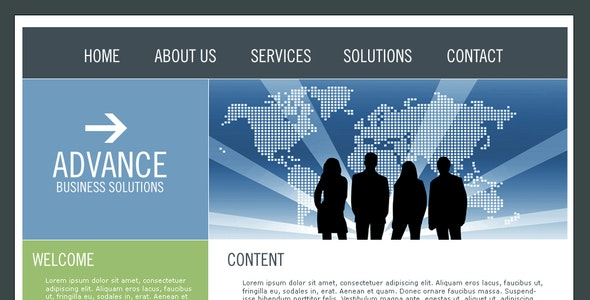 Advance Business Template - Business Corporate