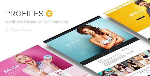 Profiles - Responsive WordPress Theme - Portfolio Creative