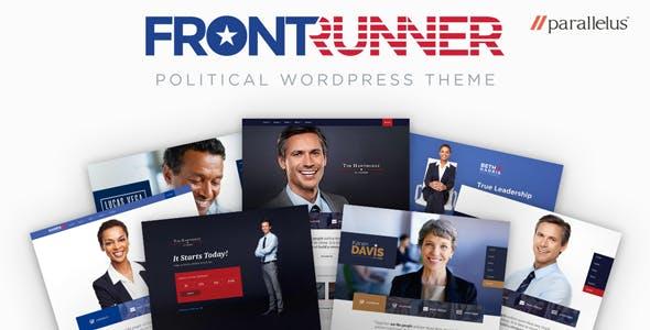 Chính trị WordPress Theme - tiên phong
