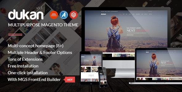 Dukan - Multipurpose Magento Theme - Shopping Magento