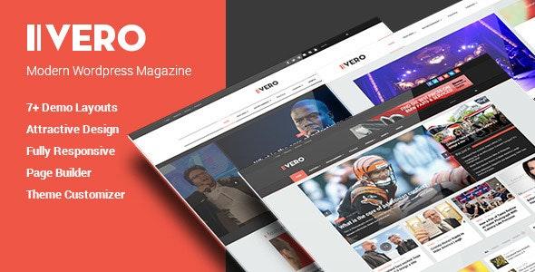 Vero - Responsive Blog & Magazine WordPress Theme - Blog / Magazine WordPress