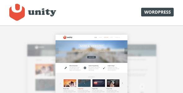 Unity - Multipurpose PSD Template - Creative Photoshop