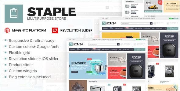 Staple - responsive magento theme - Technology Magento